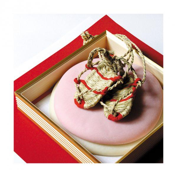 踏み餅(草鞋付き)