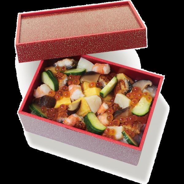 季節の特製ちらし寿司