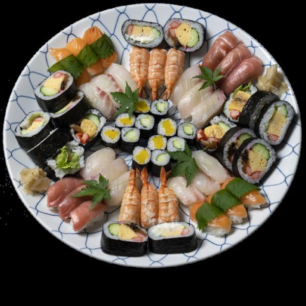寿司盛り合せ 慶(よろこび) 5〜6人前